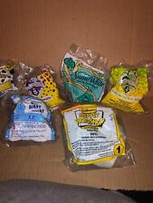 Vtg McDonalds Happy Meal Toy Lot 6 Sealed Pinky Snow White ET 101 Dalm Anamaniac