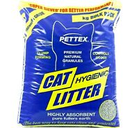 PETTEX CAT HYGIENIC LITTER highly absorbent feline clumping pet animal bp toilet
