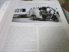 Nutzfahrzeug Archiv 1 Geschichte 1238 Framo Lieferdreirad LT 300, 1931