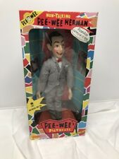 "Vintage Matchbox PEE WEE HERMAN Poseable Doll 17"" NON-TALKING NIB"