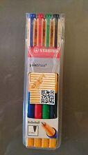 Stabilo Point Visco Rollerball 4er Set 0,5mm rot blau grün schwarz