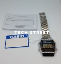 CASIO Classic Unisex Digitial Watch-A168WA-1YES Silver - Perfect Valentines Gift