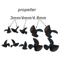Blade Propeller Prop 32/35/36/52mm Pitch 1.4 For 3mm 4mm 4.8mm Shaft RC Boat