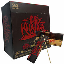 Wiz Khalifa - The Wiz Pack - RAW King Size Slim Connoisseur Rolling Papers - Box