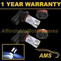 2X H11 WHITE 4 CREE LED FRONT FOG SPOT LAMP LIGHT BULBS CAR KIT XENON FF502801