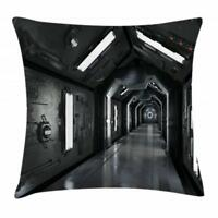 Outer Space Throw Pillow Cases Cushion Covers Ambesonne Home Decor 8 Sizes