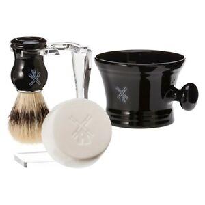 Genuine Van Der Haven Soap, Boar Brush, Stand & Bowl Shave Set **NEW-READ**