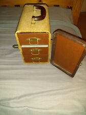 Vintage B & J Tweed Sequence Unifile Slide Holder Barnett & Jaffe