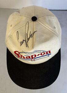 Autograph Signed Cruz Pedregon Snap-on Racing Team Snap Back Hat NHRA Funny Car