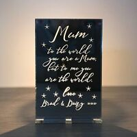 Personalised Gifts For Her Mum Mummy Nanny Grandma Christmas Candle Holder Gifts