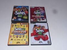 4x Die Sims 2 Spiele ( PC-CD ROM )