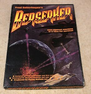 Berserker, Flying Buffalo games, Very Good condition, Complete, Fred Saberhagen