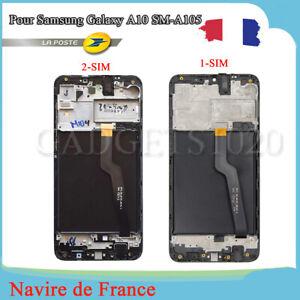Ecran Complet Pour Samsung Galaxy A10 SM-A105FN/DS/F Vitre LCD Sur Chassis NOIR