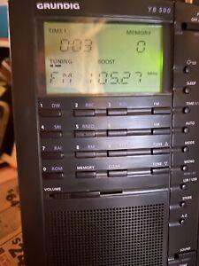 Grundig Yacht-Boy YB 500 Shortwave World Radio Band Radio Receiver FM/AM/MW/SW