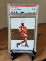 2004-05 FLEER FLAIR LEBRON JAMES #35 - PSA 9 MINT Awesome 2nd Year Card HOT 🔥