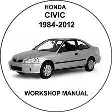 honda civic 1984-2012 Workshop Service Repair Manual