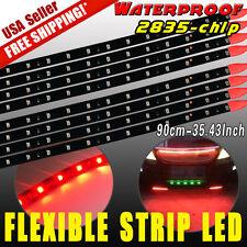 "8X 35"" 90CM LED Strip Underbody Light Bar 2835 SMD 12V Car Motorcycle Boat Decor"