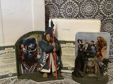 Wizard Of Oz Bradford Exchange Lot Of 2 Figurines. Witch Monkey & Winkie. Nib