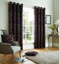 Jacquard Floral Modern Curtains & Pelmets