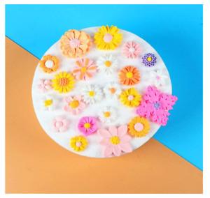 3D Blumen Silikonform Fondant Kuchen der Schokolade Sugarcraft Form Verziert NEW