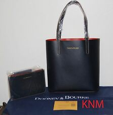 NWT DOONEY & BOURKE NAVY/RED MONTECITO WAVERLY TOTE BAG + POUCH $298