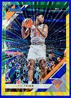 2019 Panini Donruss Basketball Alonzo Trier Green/Yellow Laser Insert #138