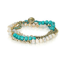 Chloe and Isabel Bead + Chain Multi-Wrap Bracelet B079T