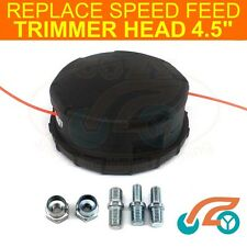 """Replacement Speed Feed 4.5"""" 450 Trimmer Head Fast Load Brushcutter Bump Head"""