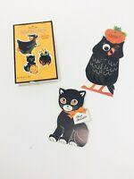 Vintage Halloween Greeting Cards and Hallmark Halloween Seals