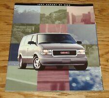 Original 1997 GMC Safari Sales Brochure 97 SLX SLE SLT