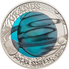 2 Dollar Palau 2018 PP - Niob Solarsystem Uranus 2018