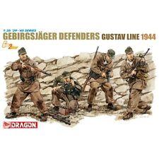 Dragon 6517 Gebirgsjager DIFESA Gustav Line 1944 1/35 SCALA KIT MODELLINO IN PLASTICA