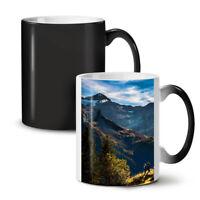 Adventure Mountain Nature NEW Colour Changing Tea Coffee Mug 11 oz   Wellcoda