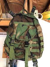 Woodland BDU USGI MOLLE II Patrol Pack w/Stiffener Assault Pack!!