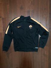 Nike Boys Jacket black dri fit Full Zip Collar Size Large 12-13Yrs Roma Football
