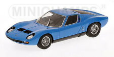 Minichamps 1/43rd ~ LAMBORGHINI MIURA SV 1971 ~ Blu ~ 400 103650 ~ NUOVO