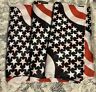 3pc Bandana American Flags Brand New Patriotic Scarf NEW 4th Of July