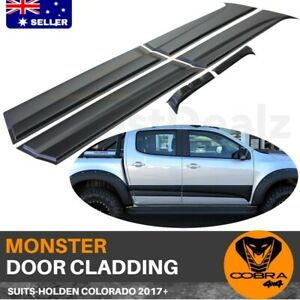 Body Monster Cladding Fit Holden Colorado 2012 onwards 2018 2019 Door Mould