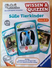 Ravensburger tiptoi® Wissen & Quizzen - Süße Tierkinder. Neu+OVP