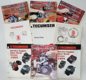 Tecumseh Service Manuals Large Selection ✨ YOU CHOOSE from Dozens Small Engine