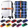 Adjustable Suitcase Luggage Baggage Straps Safety Travel Tie Lock Belt Save Pack