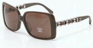 CHANEL - sunglasses - CLAUDIA SCHIFFER -  CH5208-Q c12763G Taupe Brown - Womens