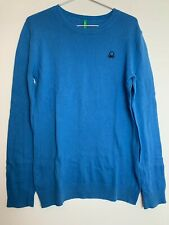 United Colors of Bennetton Kids Long Sleeve Cotton Jumper 10 - 11 Years Old Boys