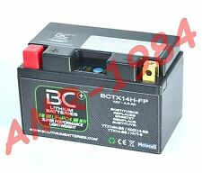 MOTORCYCLE BATTERY WHITE LITHIUM BCTX14H FP LITHIUM = YUASA YTX14H-BS = YTX14-BS