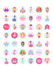 Princess Themed PRINTABLE Bottle Cap Images ~ 42 Different Designs