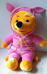 Winnie the Pooh Piglet Suit Costume Plush Doll Disney Halloween Bear 12 in
