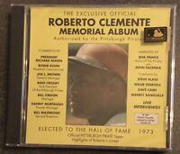 ROBERTO CLEMENTE MEMORIAL ALBUM ENGLISH VERSION ON CD