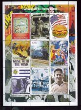 1930's Events -  BOBBY JONES, AMELIA EARHART, MONOPOLY Mini Sheet - Niger E33