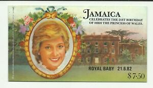 JAMAICA 1982  Birth of Prince William  $7.50  Booklet umm / mnh