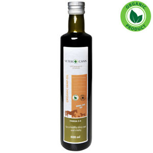 Vetercann Hemp for Pets Organic Cold Pressed Hemp Oil - 500ml